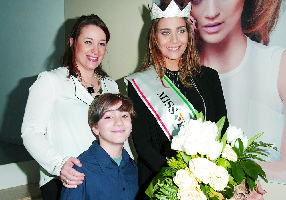 Acconciatura Miss Italia